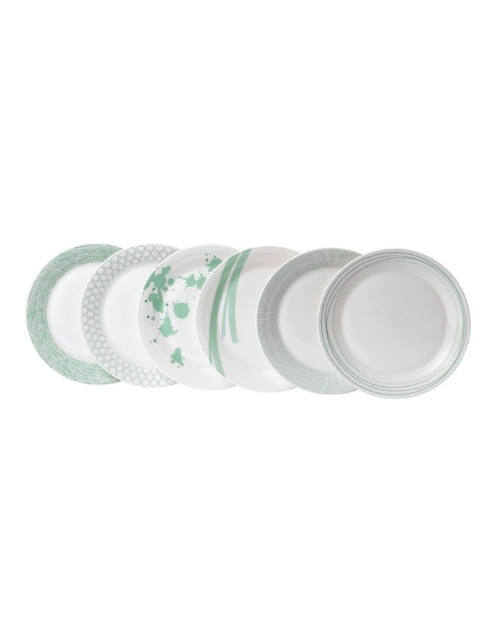 Pacific Mint Plate 28cm (Set of 6) image 1
