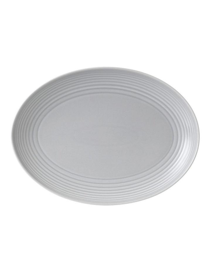 Gordon Ramsay Maze Light Grey Oval Platter 43cm image 1