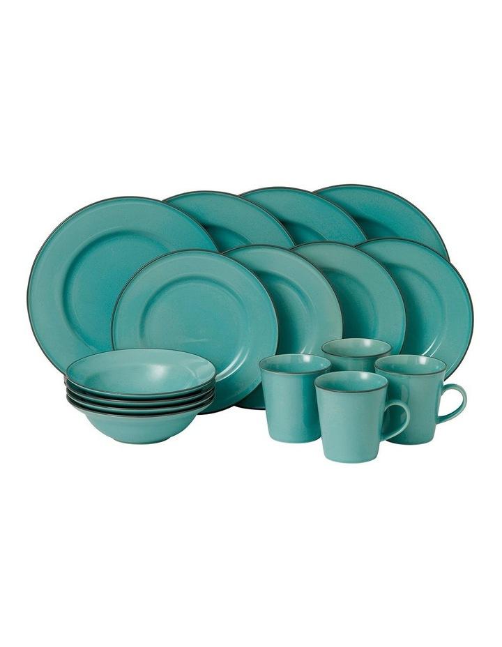 Gordon Ramsay Union Street Cafe 16pc Dining Set in Blue image 1