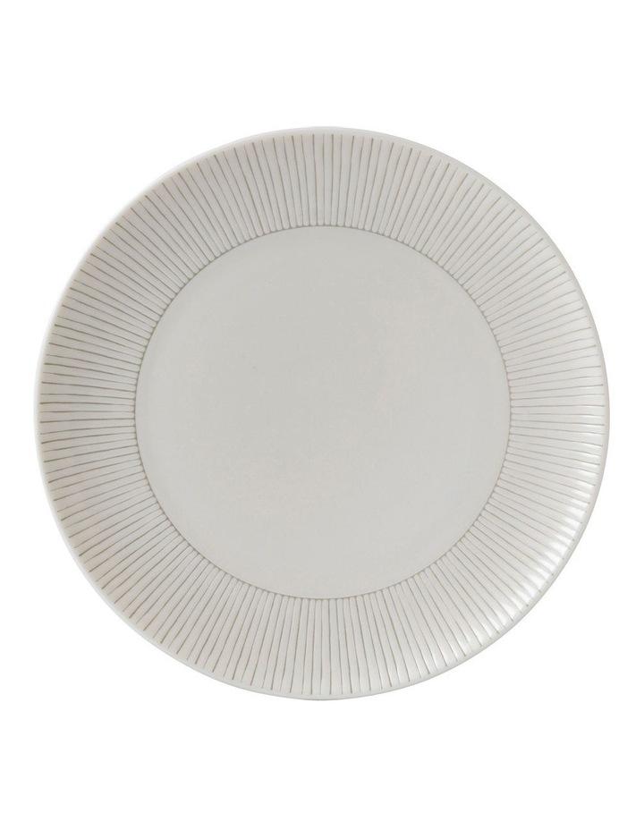 Ellen DeGeneres Taupe Stripe Plate 21cm image 1