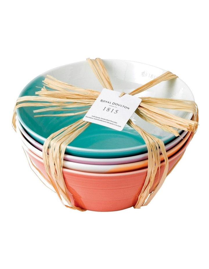 1815 Bright Noodle Bowls (Set of 4) image 2