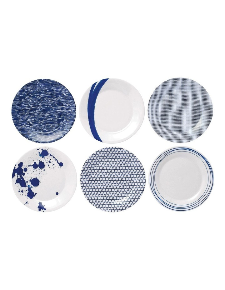 Pacific Mixed Plates 23.5cm (Set of 6) image 1