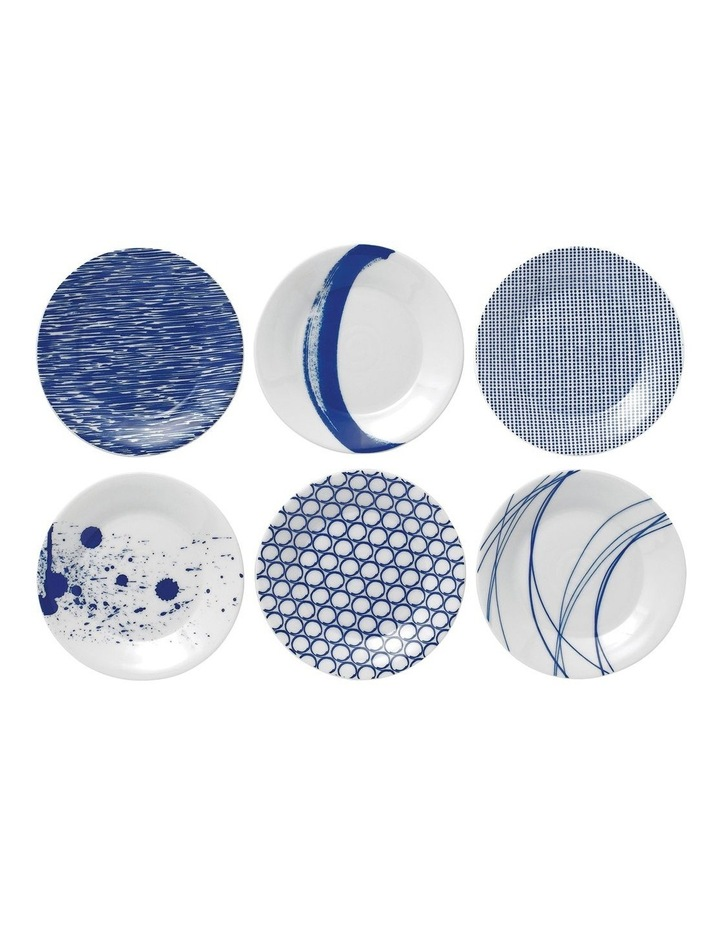 Pacific Mixed Plates 16cm (Set of 6) image 1