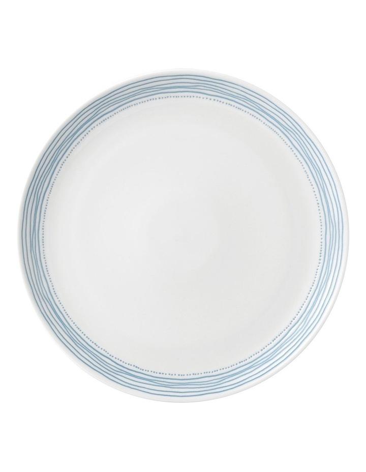 Ellen DeGeneres Polar Blue Dots Plate 28cm image 1