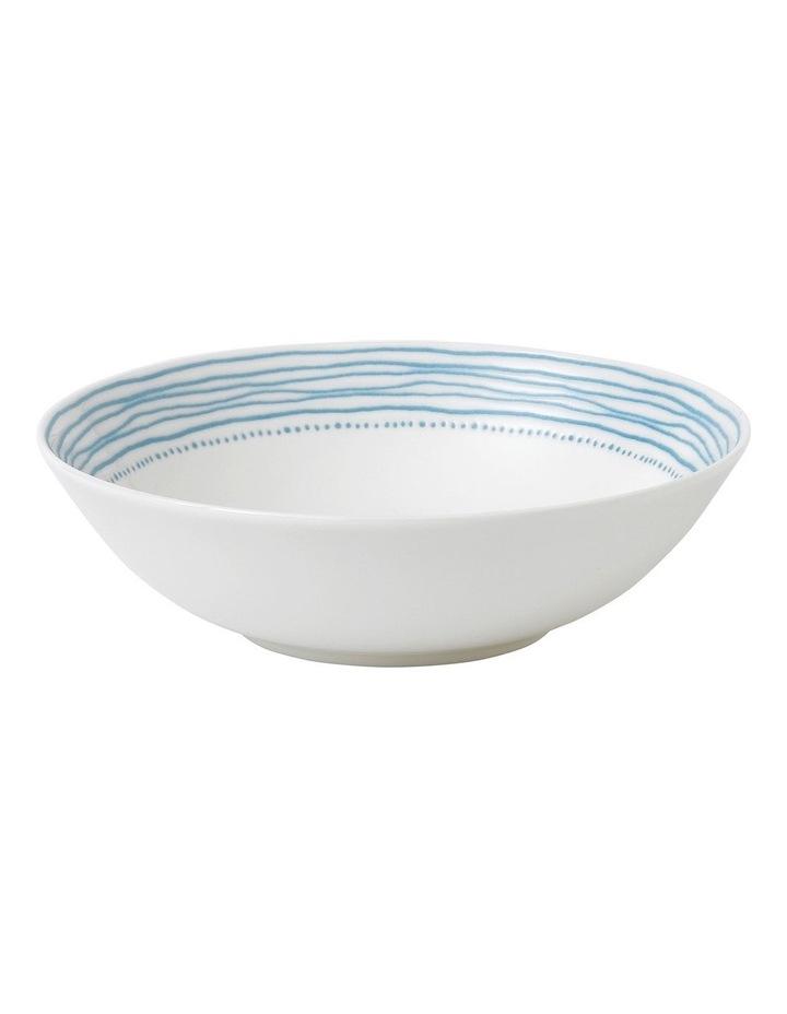 Ellen DeGeneres Polar Blue Dots Bowl 20cm image 1