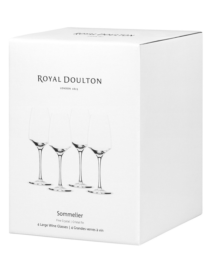 Sommelier Red Wine (Set of 4) image 3