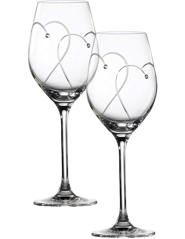 Promises Two Hearts Entwined Wine Pair image 1