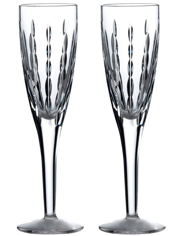 R&D Collection Neptune Flute 140ml Pair image 1