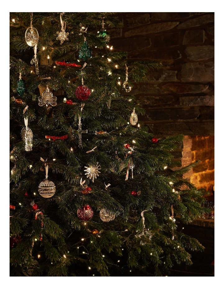 Annual Crystal Mini Wreath Ornament 7cm image 2