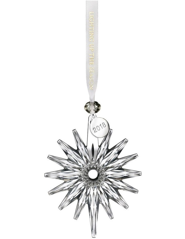 Annual Snow Crystal Ornament 11cm image 1