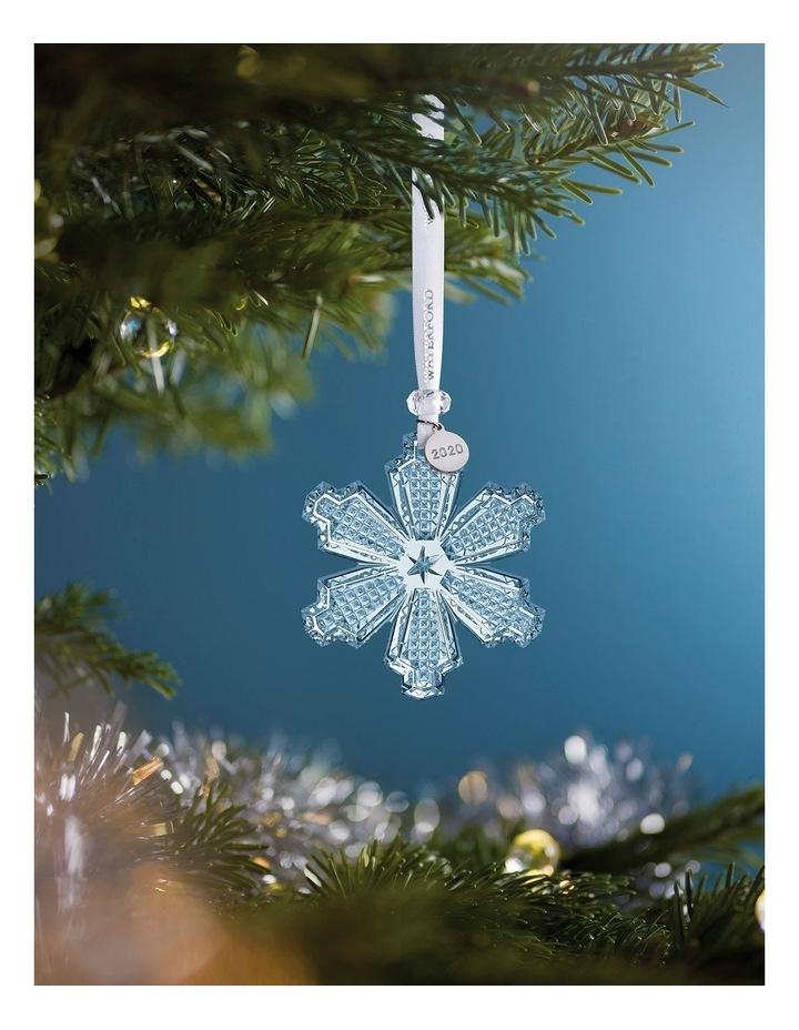 Annual Ornament Snowcrystal 2020 2020 Snow Crystal Annual Ornament image 2