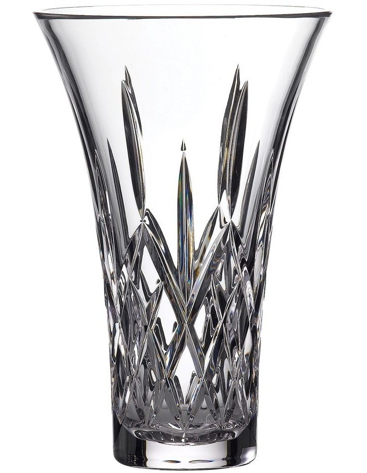 Treasures of the Sea Tramore 30cm Crystal Vase in Clear image 1