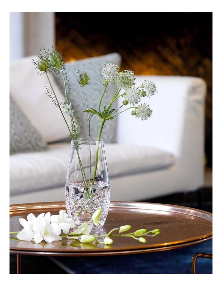 Short Stories Ogham Love Crystal Vase in Clear image 2