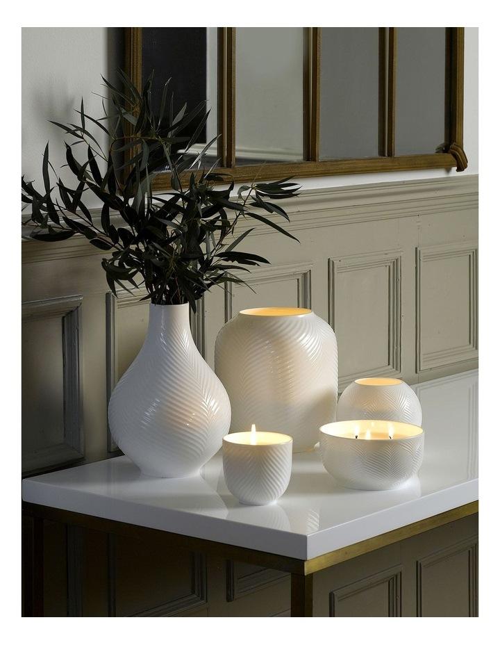 White Folia 3 Wick Filled Candle image 2