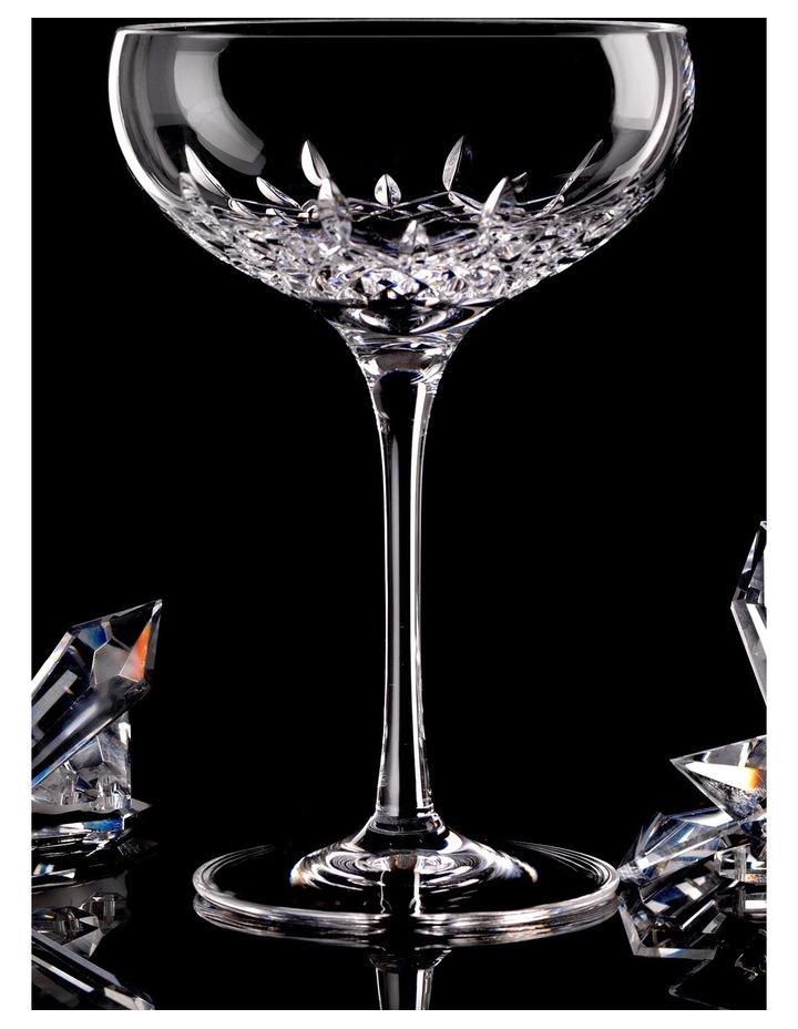 Lismore Essence Champagne Saucer Pair image 2