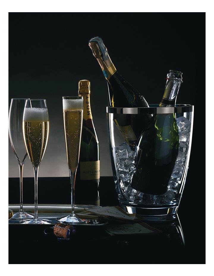 Elegance Champagne Trumpet Flute Pair image 2
