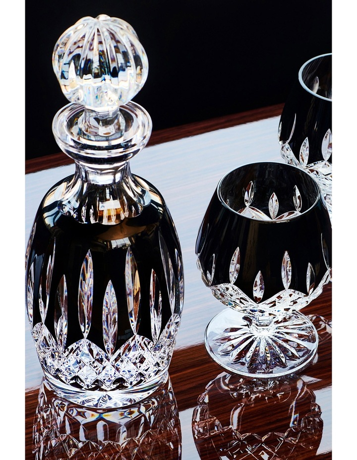 Lismore Black Spirit Decanter image 2