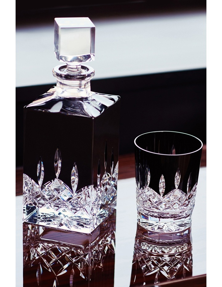 Lismore Black Square Decanter image 2