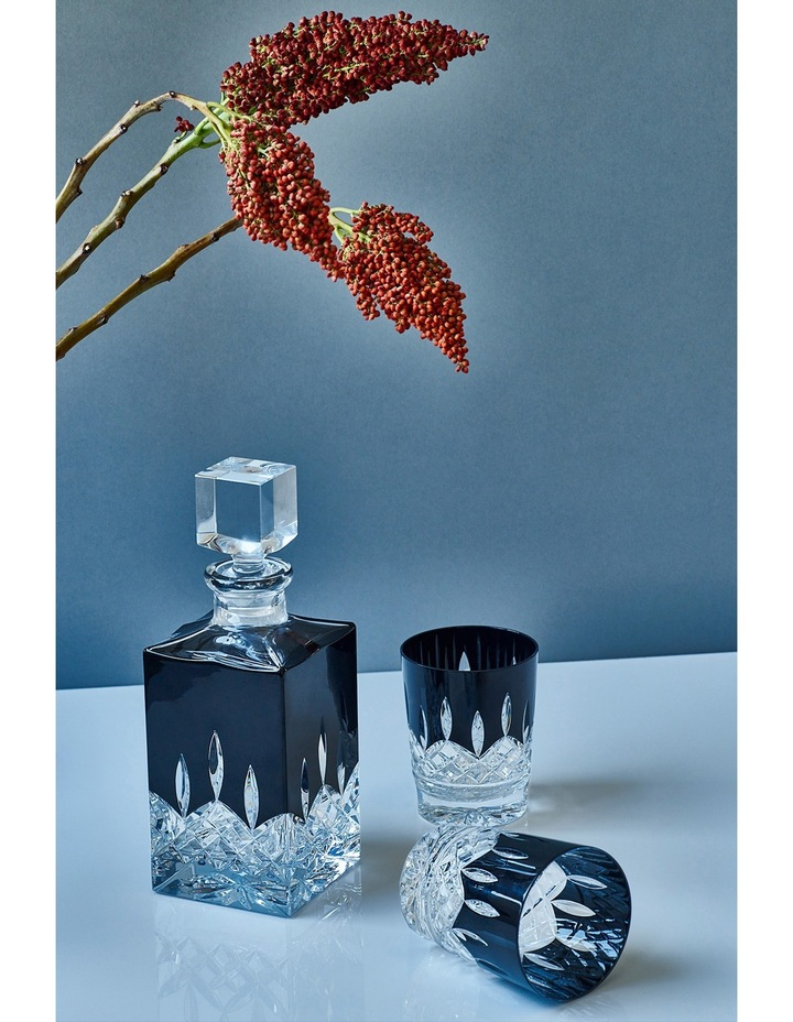 Lismore Black Square Decanter image 3