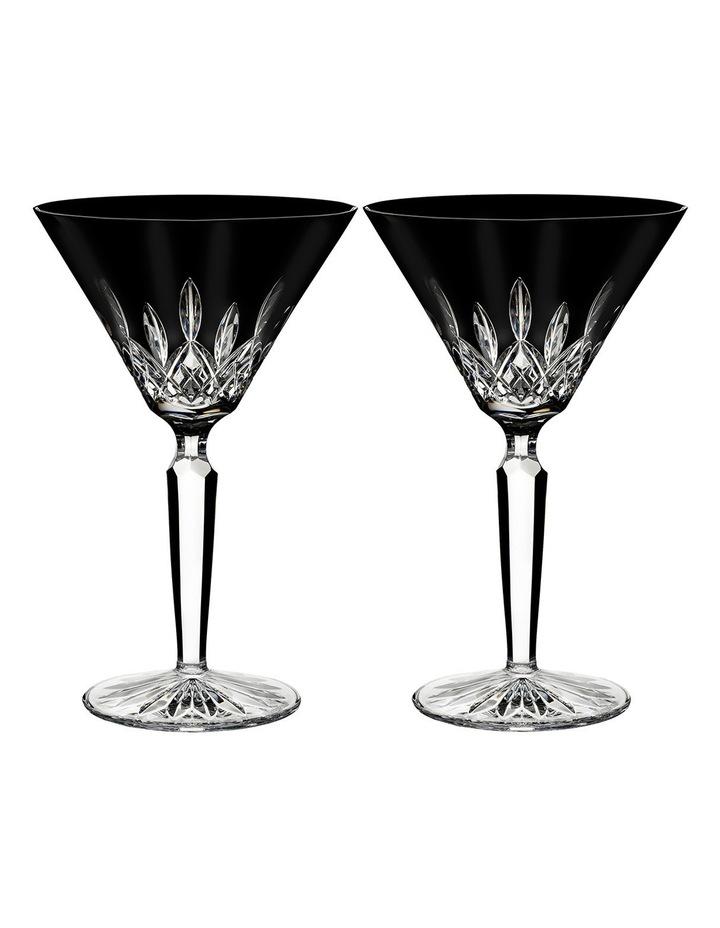Lismore Black Cocktail Pair image 1
