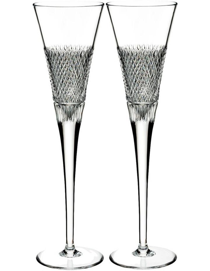 Diamond Line Flute Pair image 1