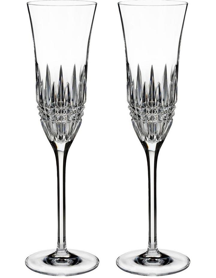 Lismore Diamond Essence Flute Pair image 1