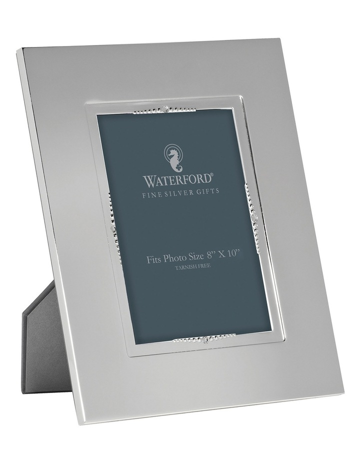 Lismore Silver Plated Bead Frame 8x10 image 1