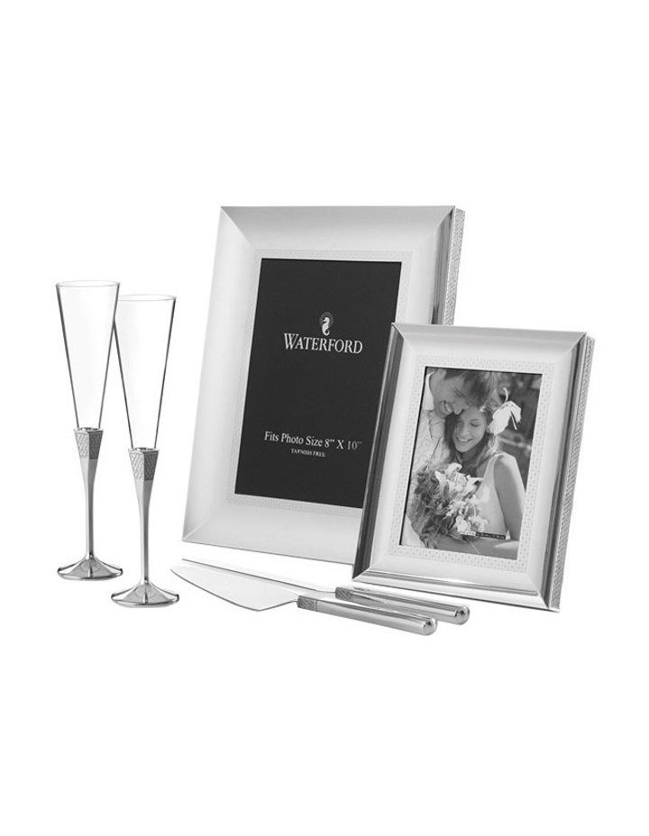 Lismore Diamond Silver Frame 8x10 image 2