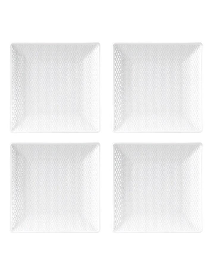 Gio Square Plate 18cm Set of 4 image 1