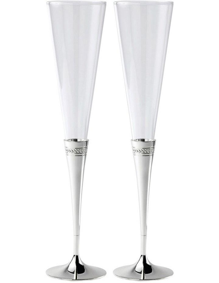 Simply Wish Toasting Flute Pair image 1