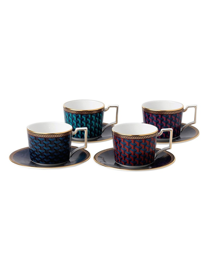 Byzance Espresso Cup & Saucer Set of 4 image 1