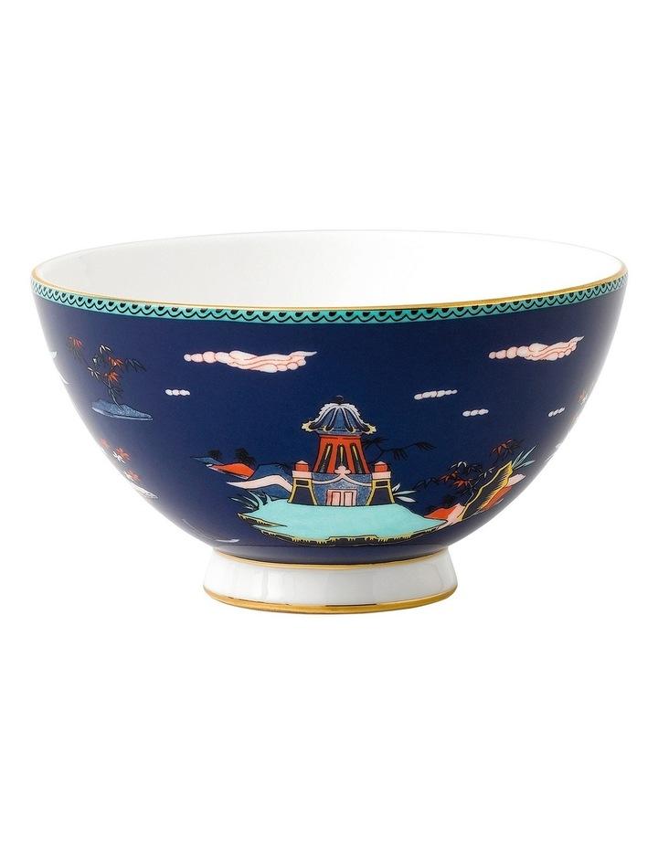 Wonderlust Blue Pagoda Bowl 11cm image 1