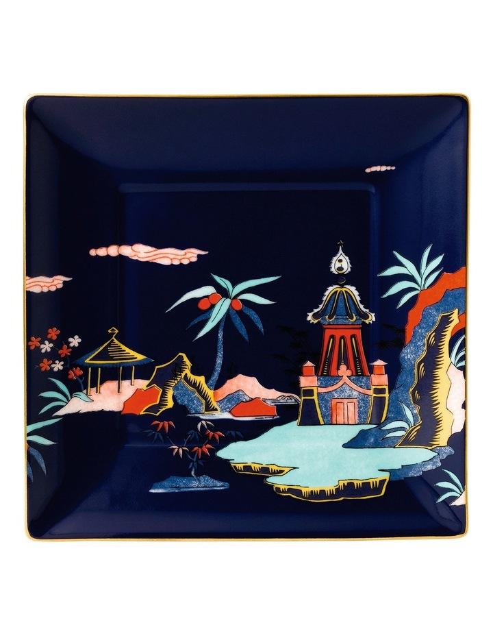 Wonderlust Blue Pagoda Tray 14.5cm image 1