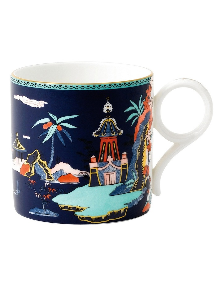 Wonderlust Blue Pagoda Mug 300ml image 1