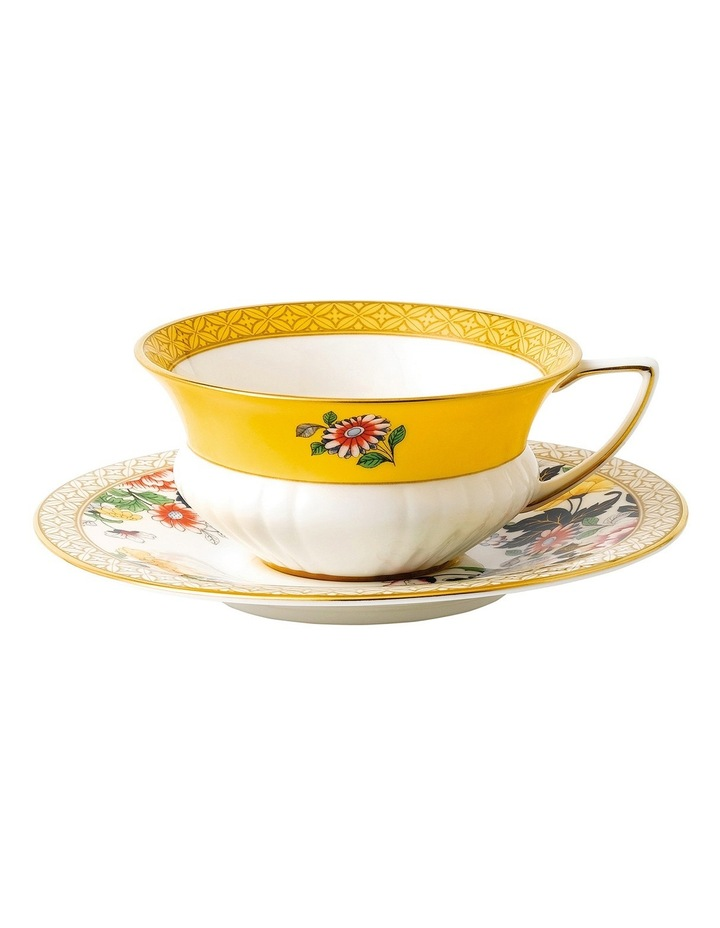 Wonderlust Primrose Teacup and Saucer image 1
