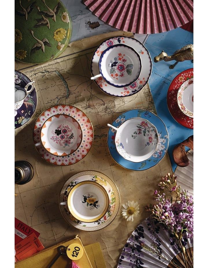 Wonderlust Crimson Orient Teacup and Saucer image 2