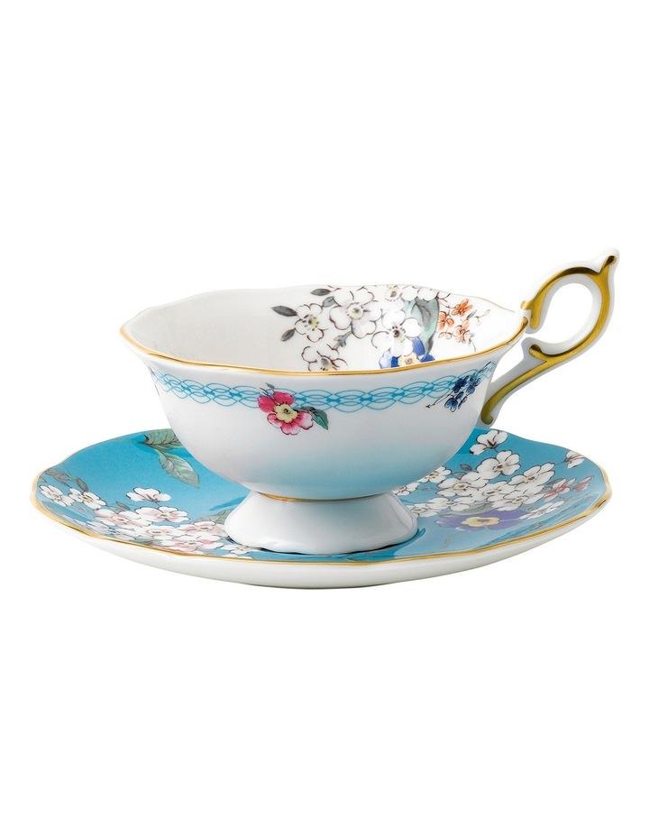 Wonderlust Apple Blossom Teacup and Saucer image 1