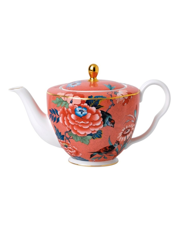 Paeonia Blush Teapot Coral image 1