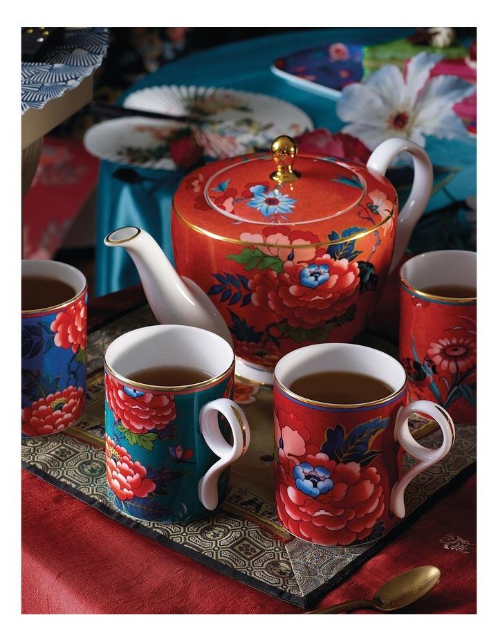 Paeonia Blush Teapot Coral image 2