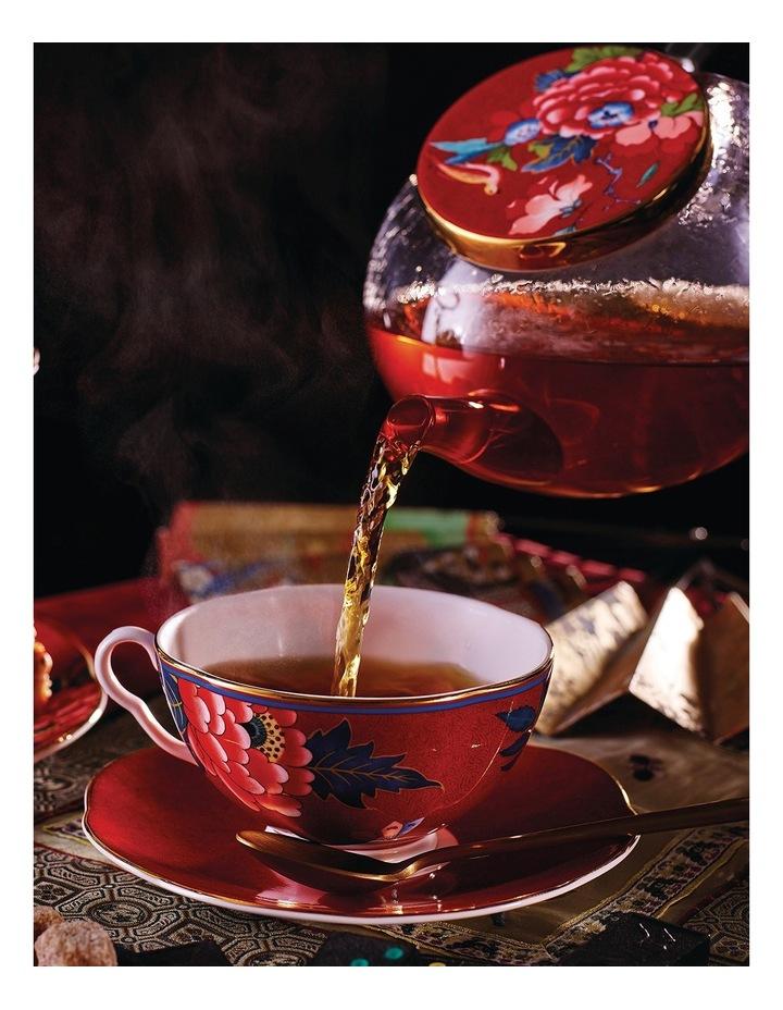 Paeonia Blush Glass Teapot image 2