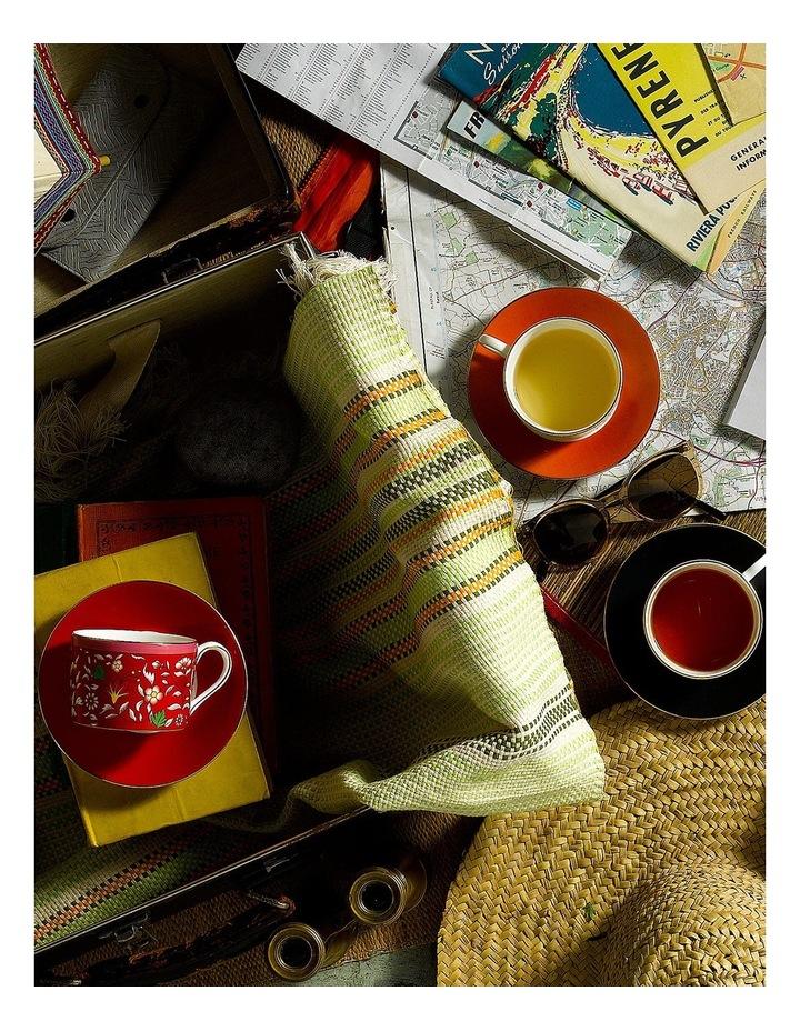Wonderlust Crimson Jewel Teacup & Saucer image 2