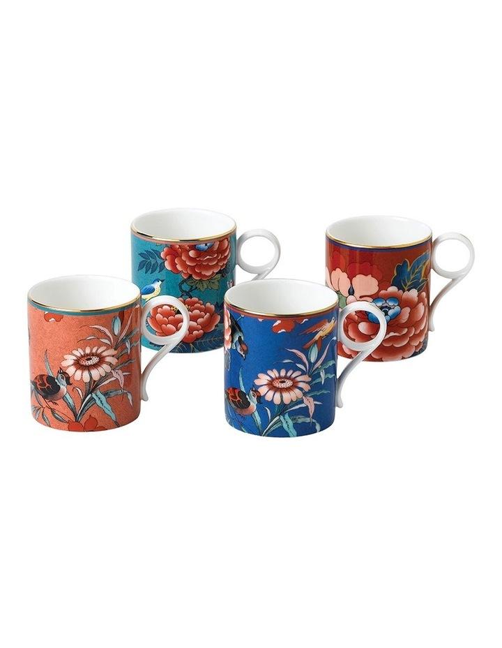 Paeonia Blush Mug 200ml Set of 4 image 1