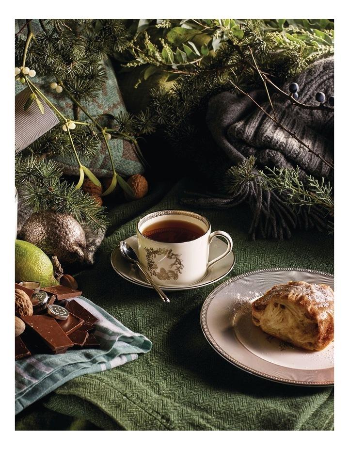 Christmas Teacup & Saucer Set of 4 image 2