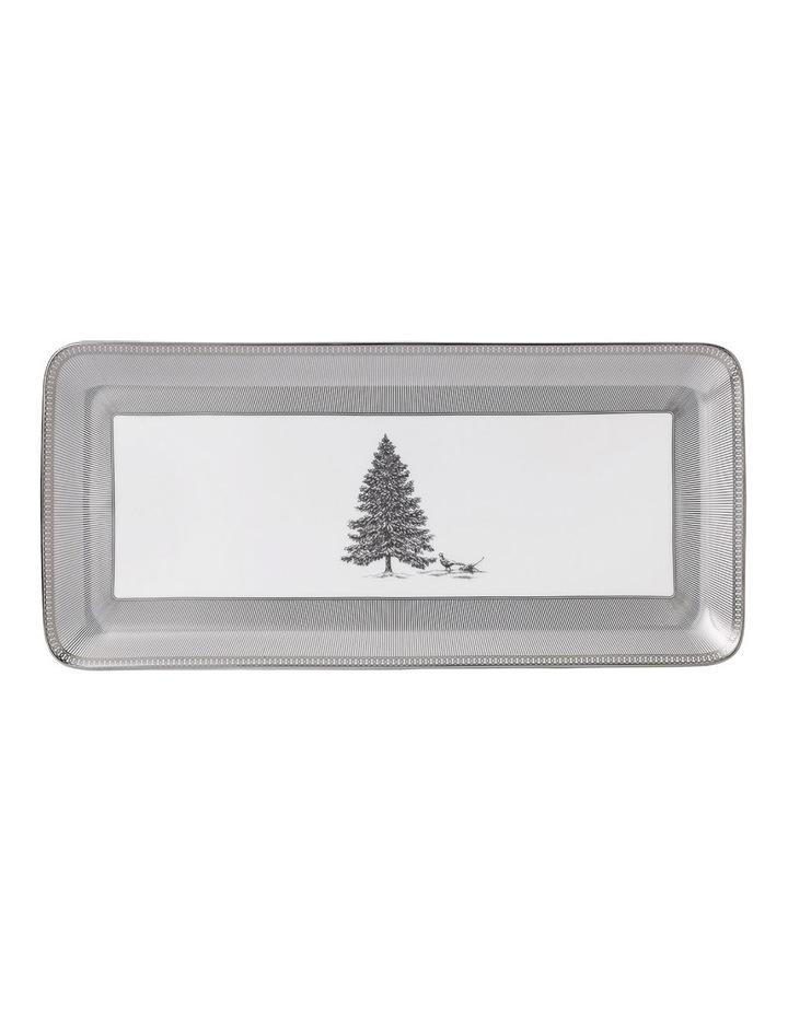 Christmas Rectangular Sandwich Tray 34cm image 1