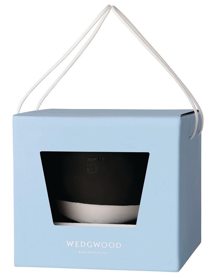 Burlington Pots 5inch Pot in White/Black image 3