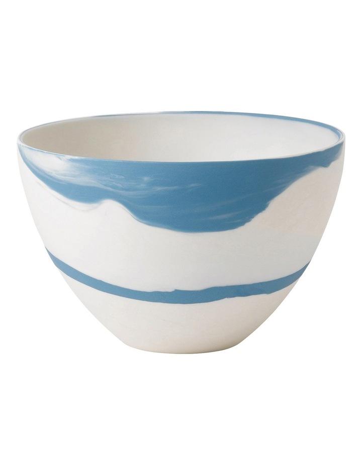 Blue Pebble Bowl 18cm image 1