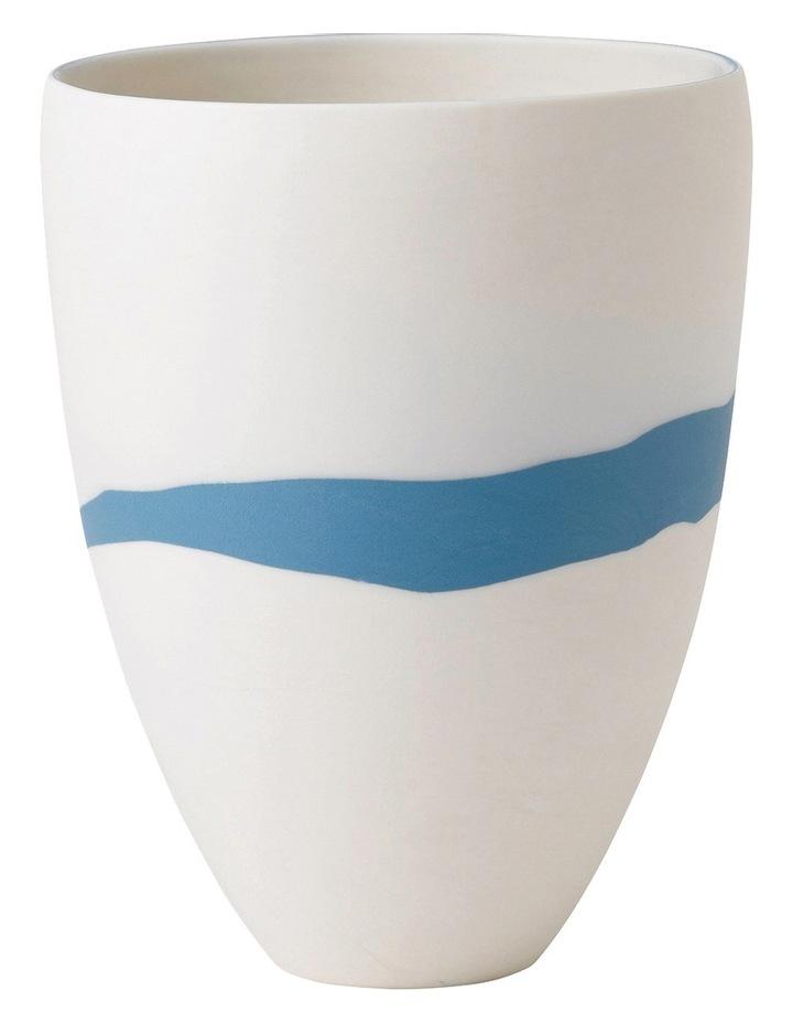 Blue Pebble Vase 15cm image 1