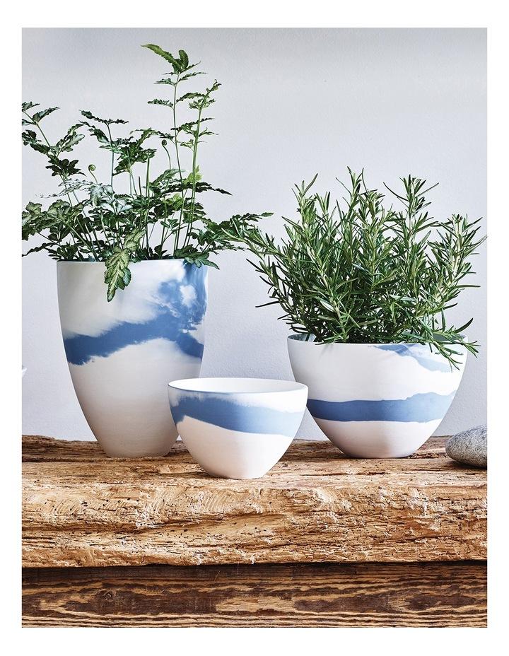 Blue Pebble Vase 15cm image 2