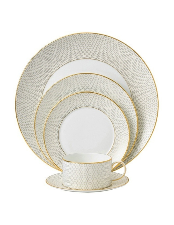 Arris 5pc Place Set in White image 1