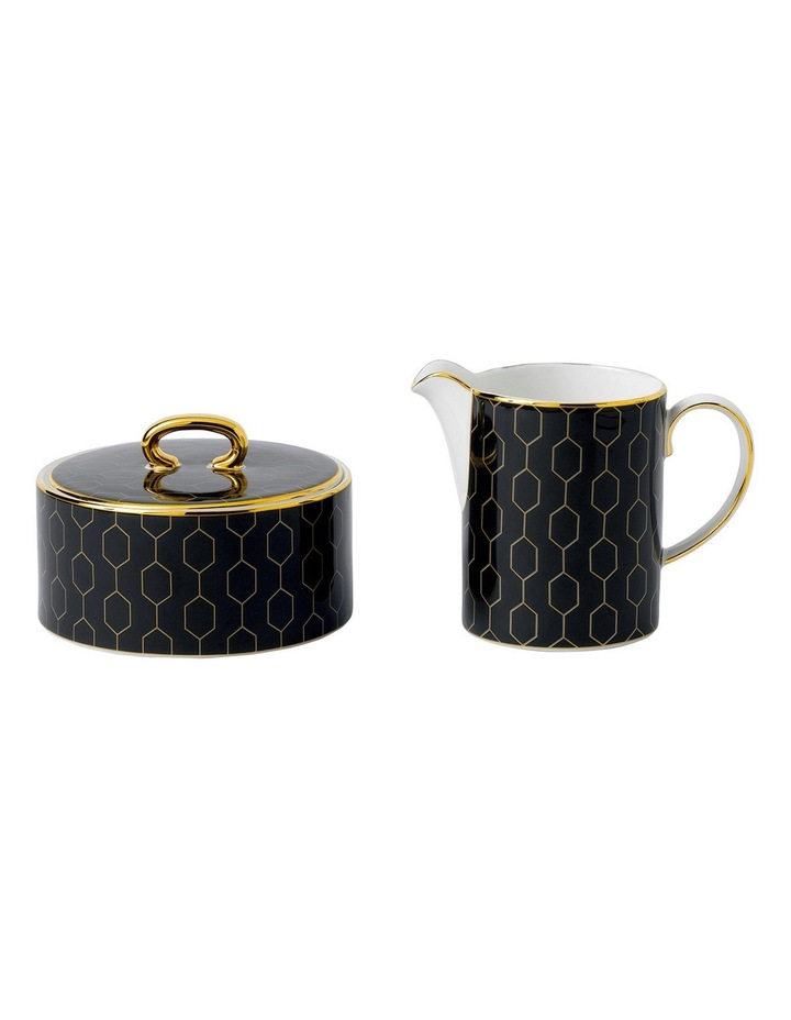 Arris Accent Covered Sugar & Creamer image 1
